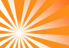 Priorità bassa dell'estratto di colore giallo arancione dello sprazzo di sole illustrazione di stock