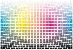Priorità bassa dell'estratto di spettro di colore Fotografia Stock