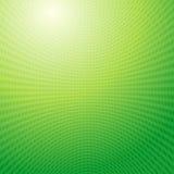Priorità bassa dell'indicatore luminoso dell'estratto di griglia delle onde verdi Immagine Stock