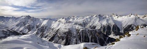 Priorità bassa dell'intervallo di montagna dello Snowy. Fotografia Stock