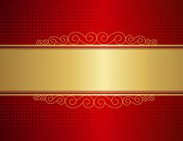 Priorità bassa dell'invito di cerimonia nuziale Immagini Stock Libere da Diritti
