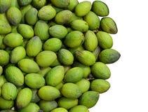 Priorità bassa dell'oliva verde Fotografia Stock Libera da Diritti