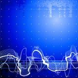 Priorità bassa dell'onda sonora illustrazione di stock