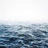 Priorità bassa dell'ondulazione dell'acqua blu immagine stock