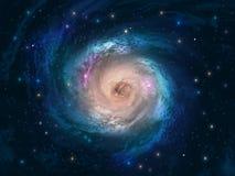 Priorità bassa dell'universo Fotografia Stock