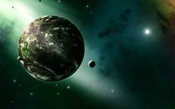 Priorità bassa dell'universo Fotografie Stock