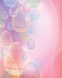 Priorità bassa dell'uovo di Pasqua Fotografia Stock