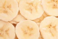 Priorità bassa della banana Fotografia Stock
