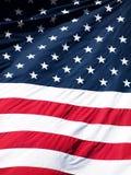 Priorità bassa della bandiera americana Fotografie Stock Libere da Diritti