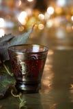 Priorità bassa della bevanda di festa Fotografie Stock Libere da Diritti