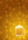 Priorità bassa della birra Immagini Stock Libere da Diritti