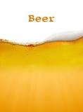 Priorità bassa della birra Fotografie Stock Libere da Diritti
