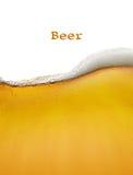 Priorità bassa della birra Fotografia Stock Libera da Diritti