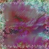 Priorità bassa della Boemia zingaresca floreale dell'album della tappezzeria royalty illustrazione gratis
