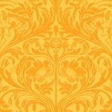 Priorità bassa della Boemia zingaresca floreale Funky di stile royalty illustrazione gratis