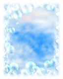 Priorità bassa della bolla di fantasia Fotografie Stock