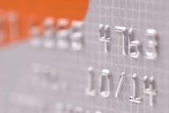 Priorità bassa della carta di credito Immagini Stock Libere da Diritti