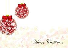 Priorità bassa della cartolina di Natale illustrazione di stock