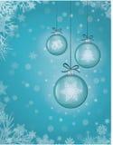 Priorità bassa della cartolina di Natale Fotografia Stock