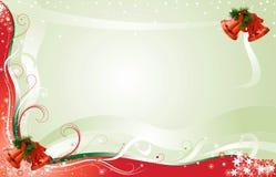 Priorità bassa della cartolina di Natale con stanza per testo Fotografia Stock Libera da Diritti