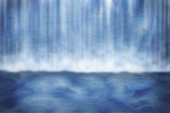Priorità bassa della cascata Fotografia Stock
