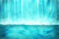 Priorità bassa della cascata Fotografia Stock Libera da Diritti