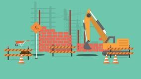 Priorità bassa della costruzione royalty illustrazione gratis
