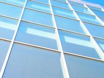 Priorità bassa della costruzione di edifici di affari Fotografia Stock