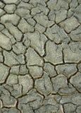 Priorità bassa della crepa di siccità Immagine Stock