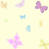 Priorità bassa della farfalla Illustrazione di Stock