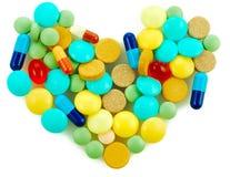Priorità bassa della farmacia fotografia stock libera da diritti