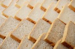 Priorità bassa della fetta del pane Fotografia Stock