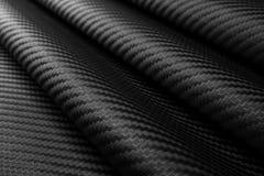 Priorità bassa della fibra del carbonio Fotografia Stock Libera da Diritti