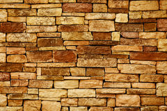 Priorità bassa della foto di struttura della parete di pietra Immagine Stock Libera da Diritti