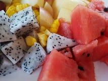Priorità bassa della frutta Fotografie Stock Libere da Diritti