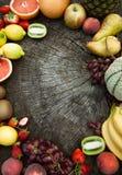 Priorità bassa della frutta Immagine Stock