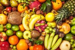 Priorità bassa della frutta Fotografie Stock
