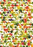 Priorità bassa della frutta e della verdura Immagini Stock