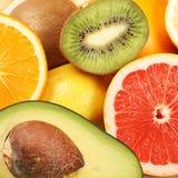 Priorità bassa della frutta fresca Fotografia Stock Libera da Diritti