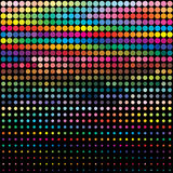 Priorità bassa della gamma di colori di colore Fotografie Stock
