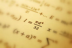 Priorità bassa della geometria di per la matematica Fotografia Stock