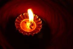 Priorità bassa della lampada di Diwali Immagini Stock Libere da Diritti