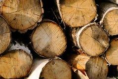 Priorità bassa della legna da ardere   Immagine Stock Libera da Diritti