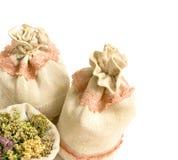 Priorità bassa della medicina di erbe Immagine Stock