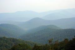 Priorità bassa della montagna Fotografie Stock