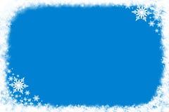 Priorità bassa della neve Immagini Stock Libere da Diritti