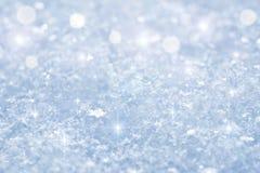 Priorità bassa della neve Immagini Stock