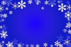 Priorità bassa della neve Fotografie Stock Libere da Diritti