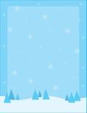 Priorità bassa della neve illustrazione di stock