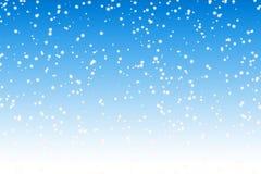 Priorità bassa della neve Fotografie Stock